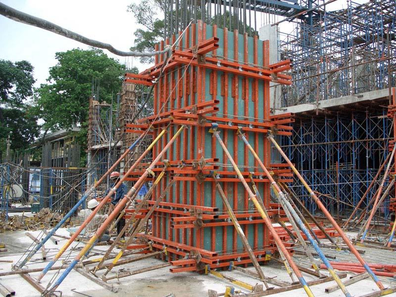 Scaffolding And Shuttering : Concrete formwork types of shuttering
