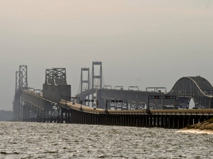 Chesapeake Bay Bridge, Maryland City, US – Longest Bridge in the World (09/10)