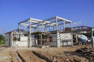 beam column slab construction