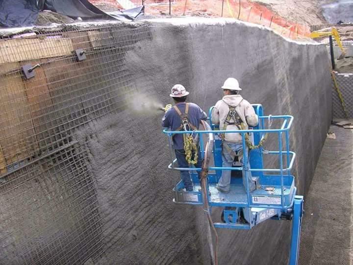 Repair Using Sprayed Concrete Sprayed Concrete