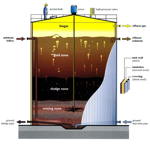 Anaerobic Sludge Digestion