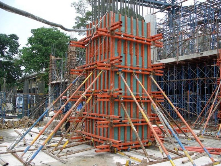 Concrete Formwork & Types Of Formwork