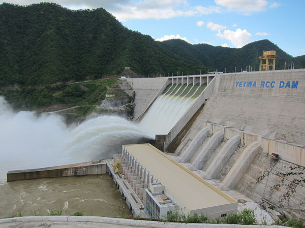 Hydropower generation through reservoir
