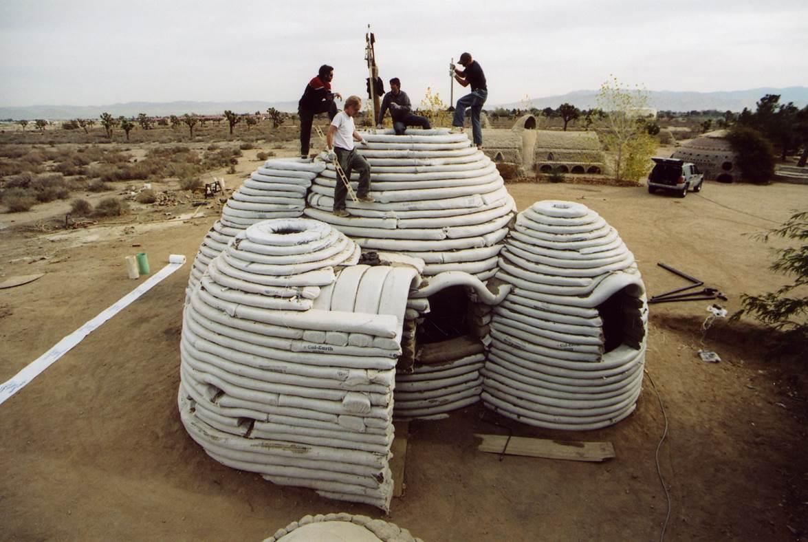 Sand Bag House