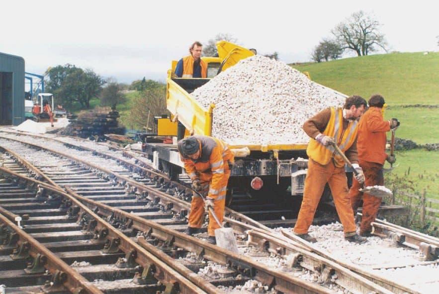 Bituminous Ballast & Applications in Railway Construction