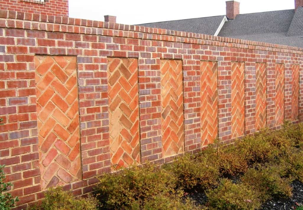Brick Masonry Wall