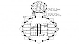 Central core and Floor Plan