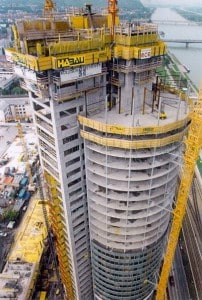 Millennium Tower (Vienna - Austria) - Composite Construction of Buildings