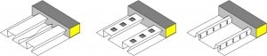 Profiled steel sheeting