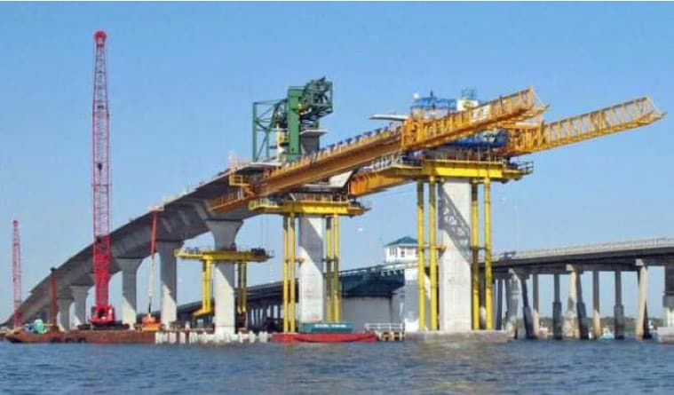 thesis bridge erected span by span It introduces the different types of self-launching gantries for span-by-span erection of precast segmental bridges and introduction to span-by-span erection of.