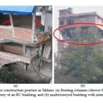 Sikkim Earthquake structural failures