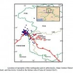 location of North Kashmir Earthquake Of October 8 2005
