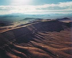 Yucca mountain range
