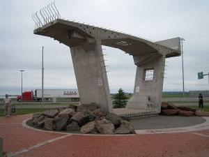 Sections of Confederation Bridge , Canada