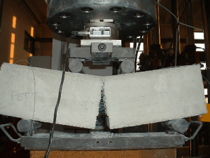 Brittle Cracking of a FRC Beam