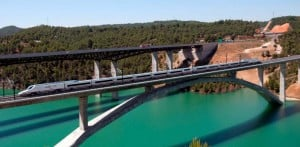 Contreras Viaduct in Service