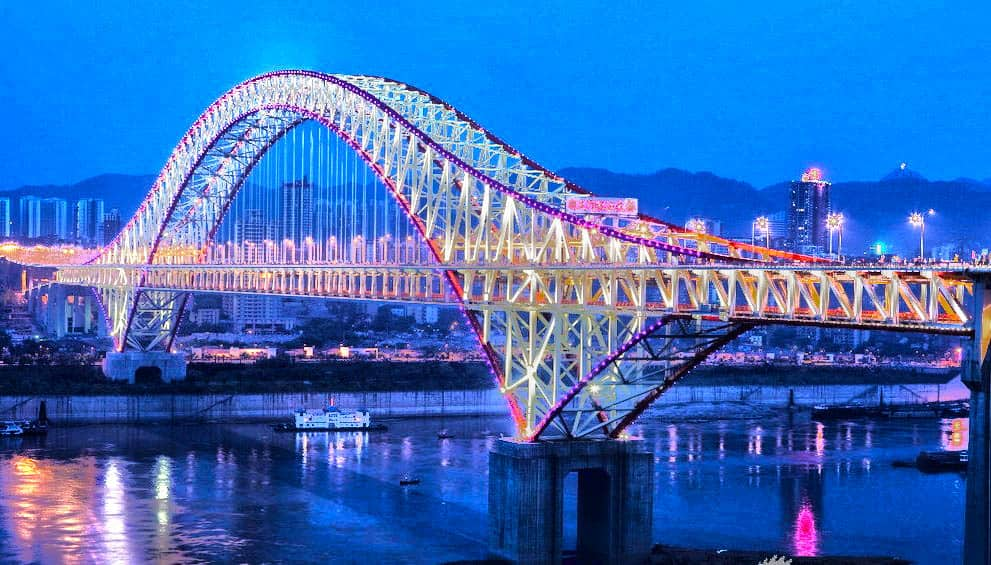 Chaotianmen Bridge - Nightview