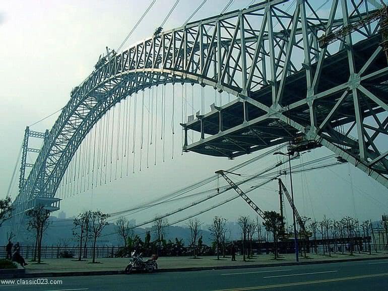 Chaotianmen Bridge Suspenders
