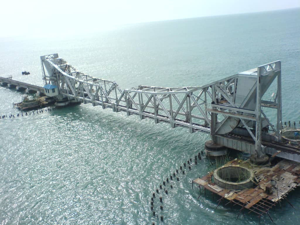 Scherzer Rolling Lift Bridge