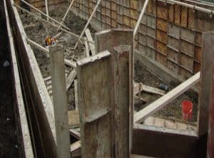Steel formwork for RC Wall