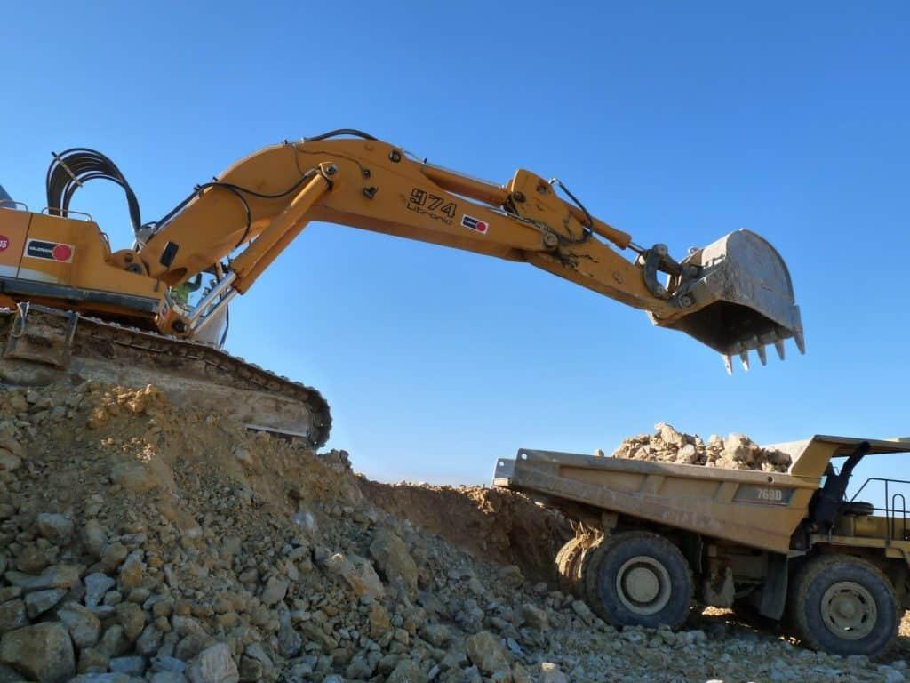 Excavation - In-situ rock tests