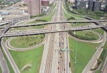 Cloverleaf interchange - Surveying