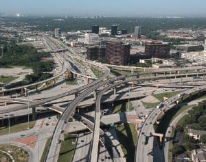 Transition Curves employed in interchanges in the USA