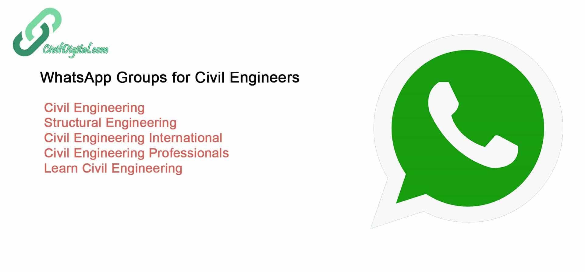 CD Civil Engineering Whatsap Group New