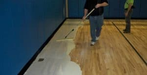 polyurethane floor treatment