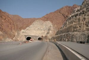 23km long Daftah-Khor Fakkan Vehicular Tunnels by CH2M, Halcrow