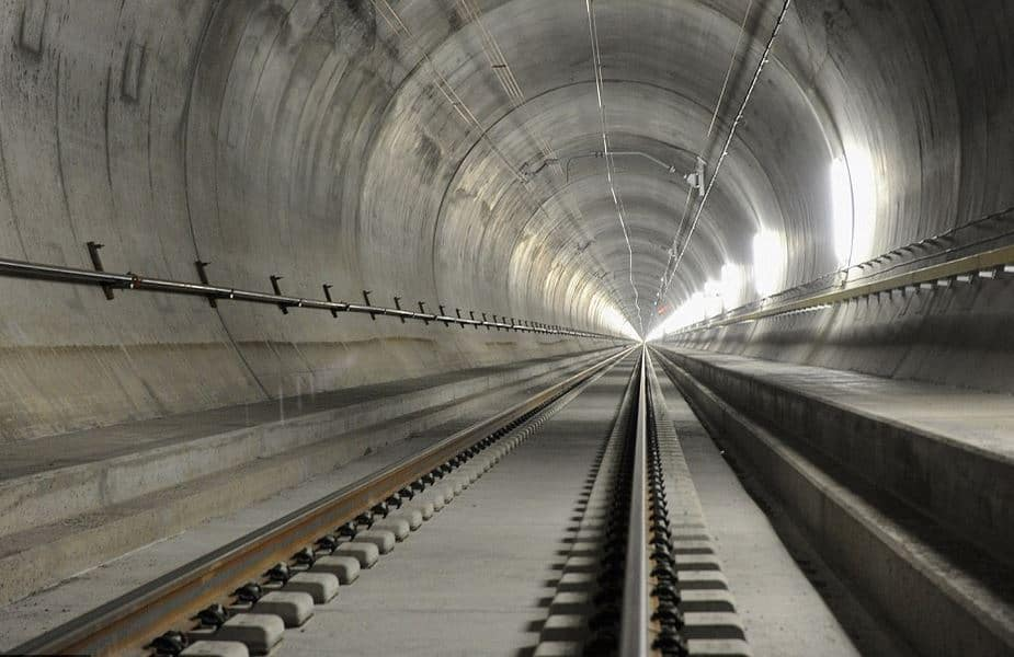 Lined - Circular Metro Tunnel
