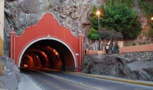 Road Tunnel at Guanajuato, Mexico - Horseshoe shaped