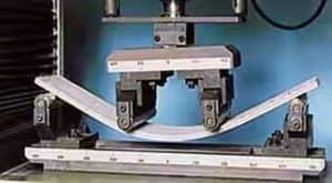 Flexure test on Flexible concrete beam