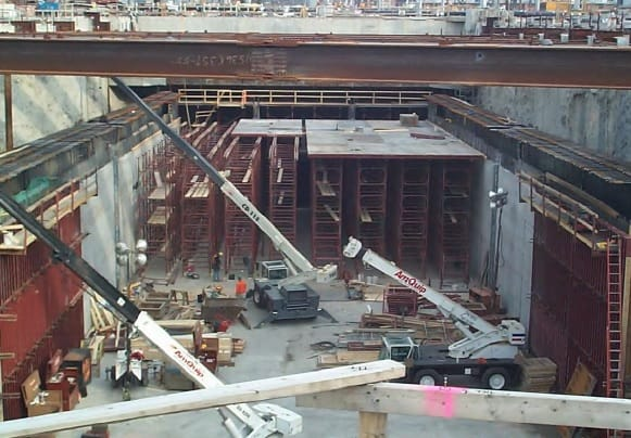 Jacked Box Tunnel Structure Construction Operation