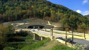 Portal Structure for Cumberland Gap Tunnel