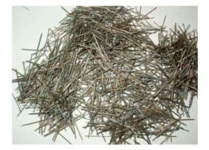 Steel fibres used in Bendable Concrete