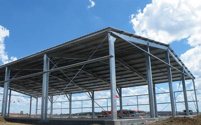 Pre engineered buildings peb components advantages for Pre engineered trusses