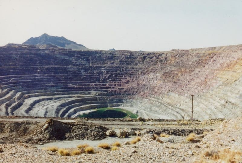 New Cornelia mine tailings, USA