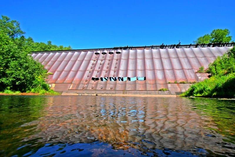 Redridge steel dam, USA