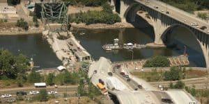 Failure of Bridges during service