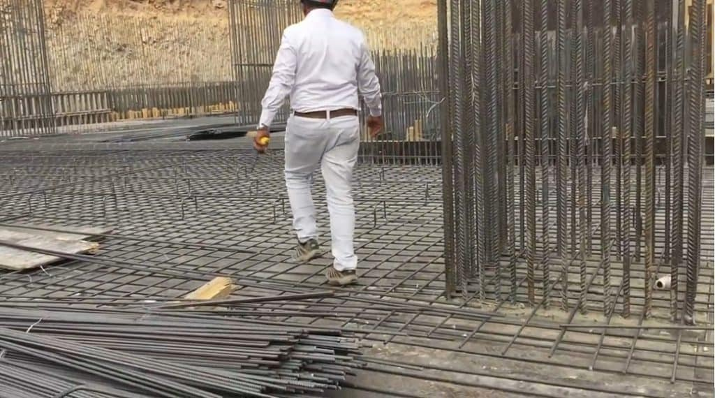 Flat Slab Reinforcement