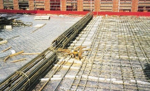 Prefabricated Flatslab reinforcement mats