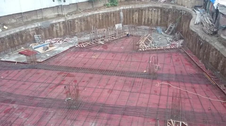 Unbonded Post Tensioned Flat Slab
