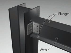 Simple Column to Beam Shear Steel Connection with Cleat angle