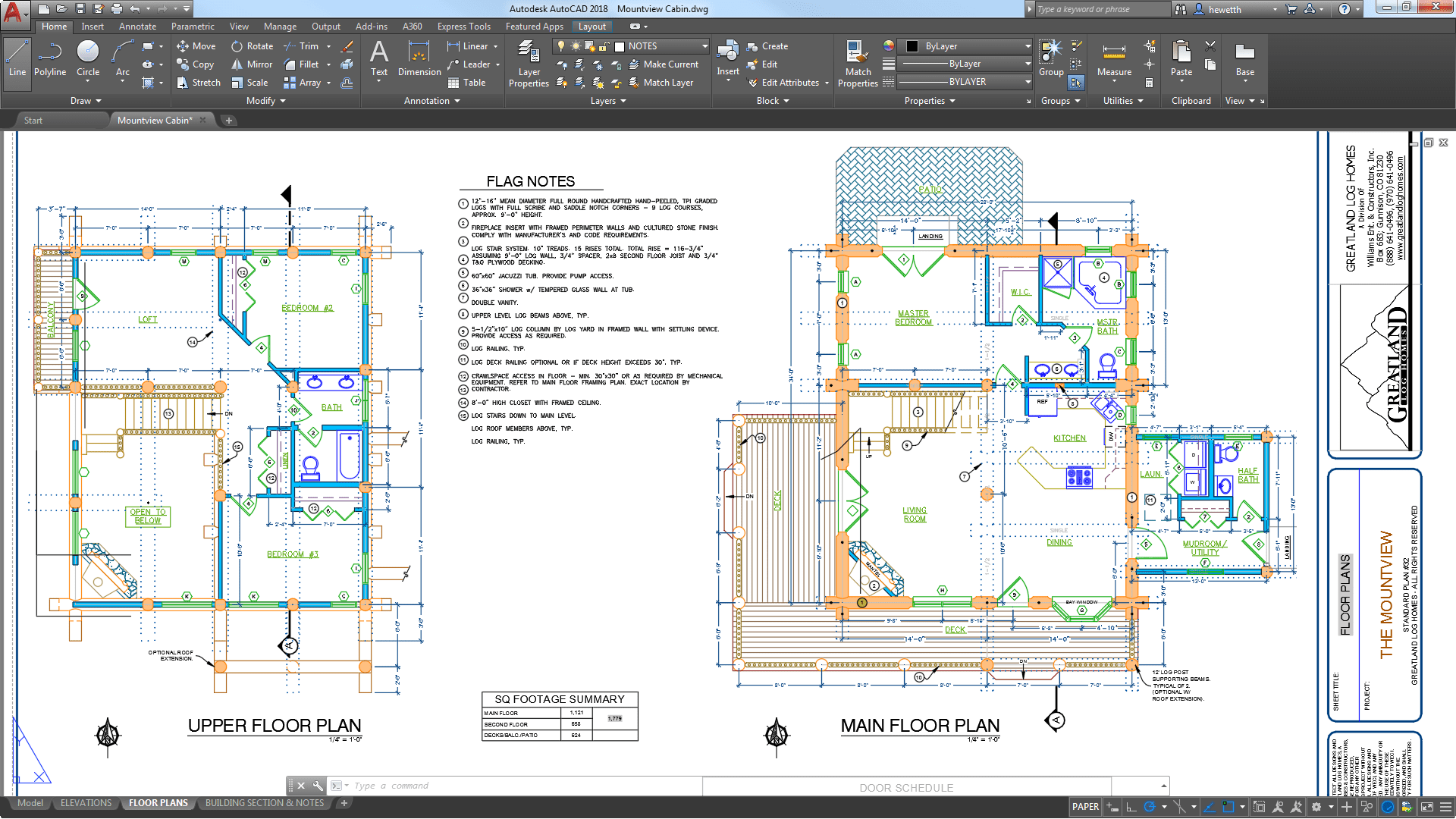 Drawing done in AutoCad