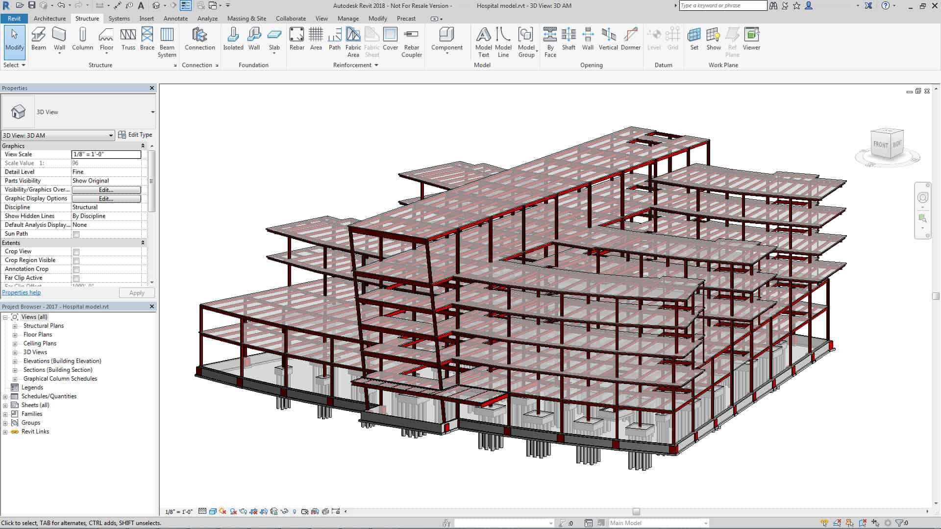 Drawing done in Revit