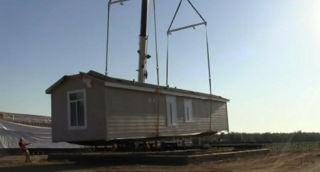Assembly of Modular Home