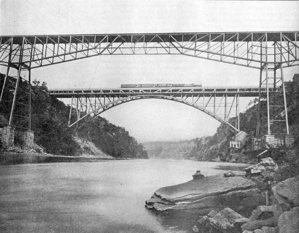 Cantilever bridge, Niagara (Wikipedia)
