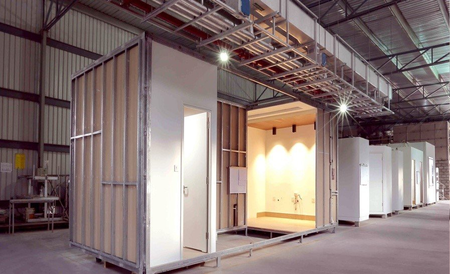 Offsite modular room by KEF INFRA
