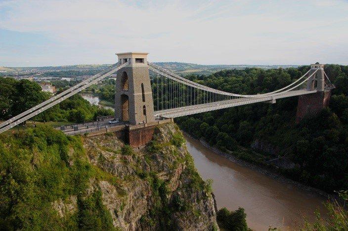 Suspension bridge bridge, Clifton (Pixabay)
